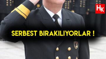 SON DAKİKA | Mahkemeye sevk edillen emekli amiraller serbest bırakıldı!