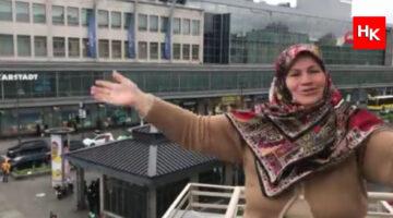 Almanya o Türk kadınını konuşuyor!