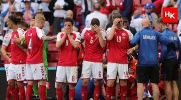 Danimarka  – Finlandiya maçından kötü haber! Eriksen fenalaşıp yere yığıldı! Son durumu ne?