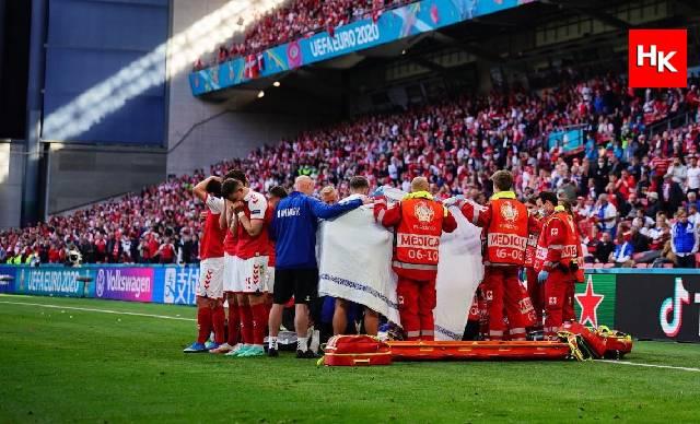 Eriksen'in fenalaşması sonrası Danimarka  -Finlandiya maçı oynanacak mı? Karar verildi!