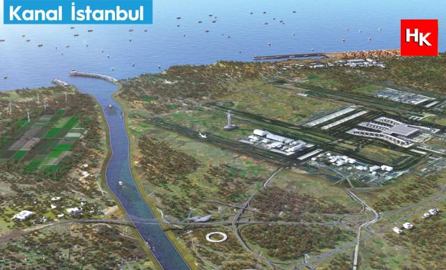 SON DAKİKA   Kanal İstanbul için ilk kazmanın ne zaman vurulacağı belli oldu!