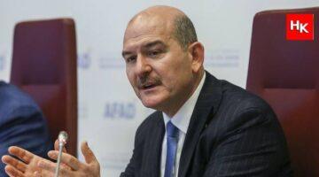 SON DAKİKA   İçişleri Bakanı Süleyman Soylu 10 bin dolar alan vekili savcılığa bildirdi