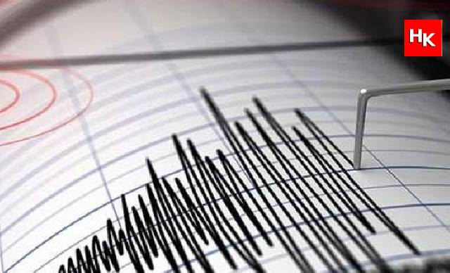 SON DAKİKA   İstanbul'da deprem oldu