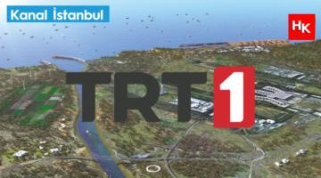 """TRT, Milli maç öncesi """"Kanal İstanbul"""" reklamı yaptı!"""