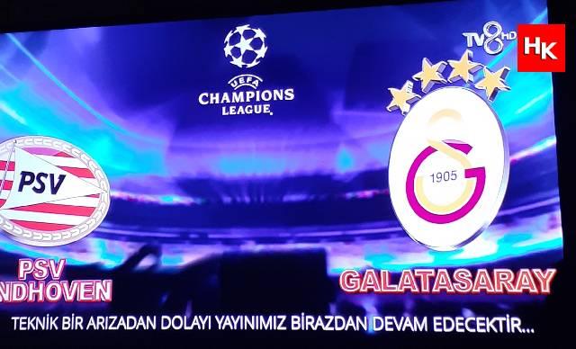 PSV – Galatasaray maçında büyük skandal!