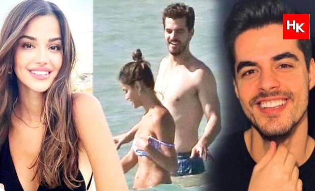 Berk Atan ve Selin Yağcıoğlu aşkı belgelendi… İlk kare Çeşme'den!
