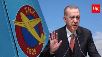 Cumhurbaşkanı Erdoğan uçak eksikliğinin sebebi olarak THK'yı işaret etti!
