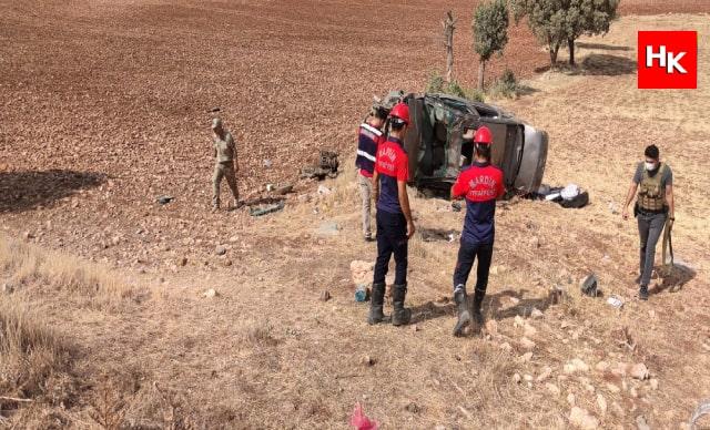 Mardin'de feci kaza! 2 askeri personel hayatını kaybetti