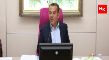 """Tanju Özcan """"Cumhurbaşkanı gibi mi yapayım illa"""" dedi. Mecliste çay fırlattı!"""