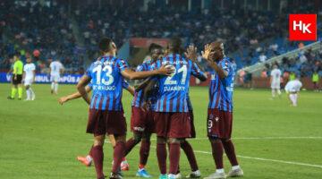 Trabzonspor galibiyeti elinin tersiyle itti!