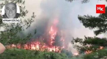 Seydikemer yangını korkutucu boyutlara ulaştı