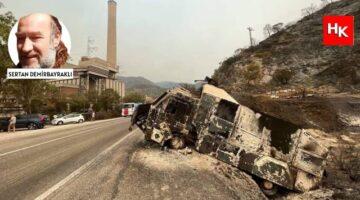 Muğla yangınlarının raporu yayınlandı