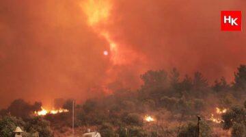 Bodrum 'daki yangınların yayınlanmayan görüntüleri ! İşte saldırı anları